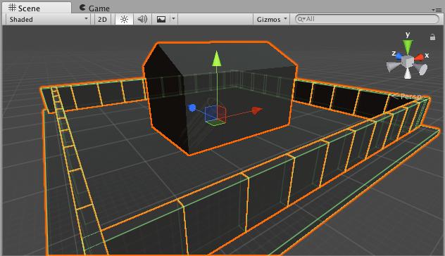 3D Scene setup – PaintCraft