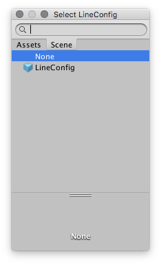 line  config refference